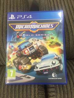 PS4 Micromachines