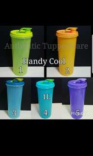 Authentic Tupperware  Handy Cool 1L 23.7cm(H) x 10.5cm(D)  《Retail Price S$16.60/each》 pc tupper
