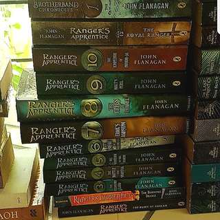 Ranger's Apprentice Series by John Flanagan (12 books)