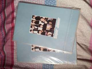 Super Junior Notebook Limited Edition