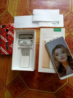 OPPO F5 COMPLETE WITH FREEBIES