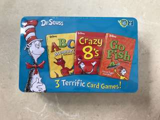 Dr Seuss card games