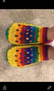100% lamb woolen socks