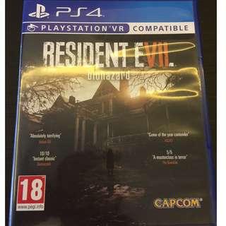 PS4 Resident Evil 7 Bioha