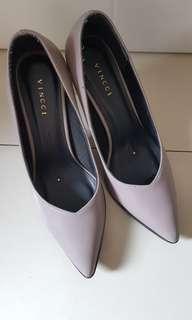 Vincci Dark Grey Heels 7 cm size 37 VGC