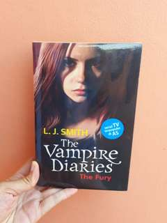 Novel The Vampire Diaries The Fury