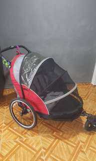 InStep 2 seater bicycle trailer(can convert to stroller)