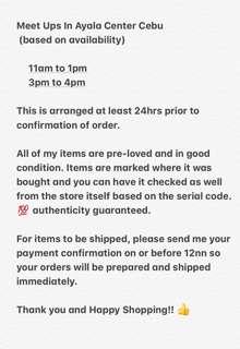 Order Reminders