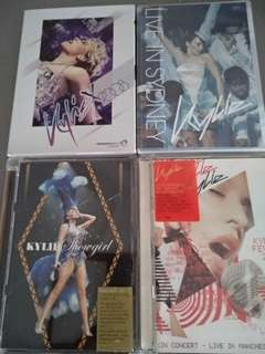 Kylie Minogue concerts x all 4