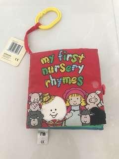 Preloved My First Nursery Rhymes Cloth Book