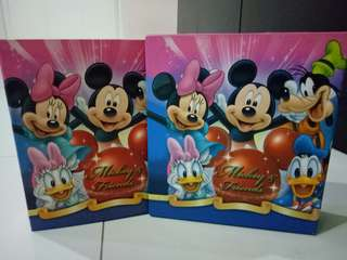 Mickey and friends photo album