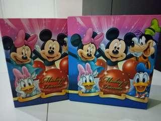 Mickey and friends photo album