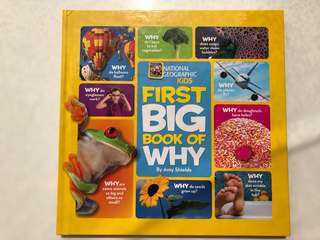 National Georgraphic Kids First Big Book of Why
