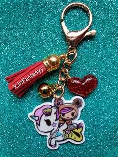 (5) Tokidoki Bag Charm/Key Chain