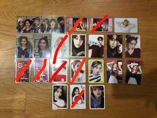 KPOP PC clearance (Twice, Red Velvet, Got7, WJSN)