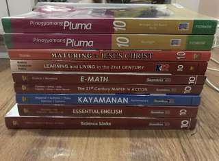 GRADE 10 Textbooks