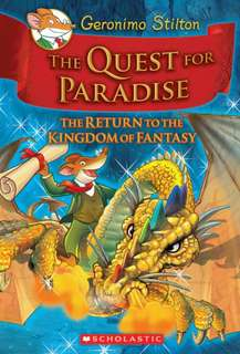 (BN) Geronimo Stilton Kingdom of Fantasy Hardcover #2 The Quest for Paradise