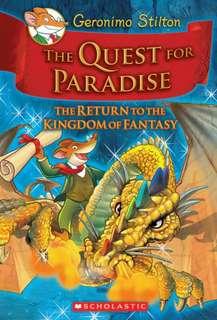 (BN) Geronimo Stilton Kingdom of Fantasy Hardcover #2 The Quest for Paradise