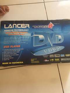 DVD MP4 player