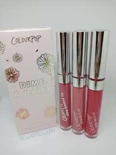 Colourpop Dime a Daisy Lip Bundle