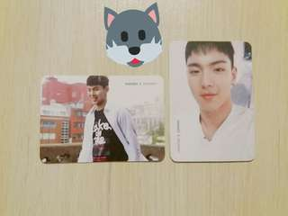 MONSTA X SHOWNU Official Photocard