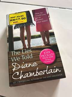 The Lies We Told by Diana Chamberlain