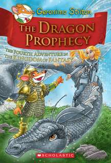 (BN) Geronimo Stilton Kingdom of Fantasy Hardcover #4 The Dragon Prophecy