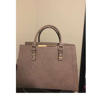 Large Taupe Handbag