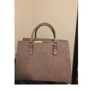 Large Taupe Handbag