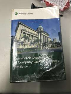 AC2302 Company Law Textbook and bibles