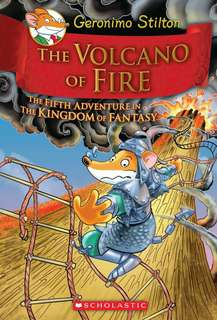(BN) Geronimo Stilton Kingdom of Fantasy Hardcover #5 The Volcano of Fire