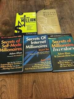 Secrets of Millionaire Investors books
