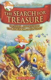 (BN) Geronimo Stilton Kingdom of Fantasy Hardcover #6 The Search for Treasure