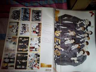 12 pcs. Poster - EXO Limited Edition