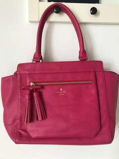 Lanvin handbag 罕見桃紅色手袋