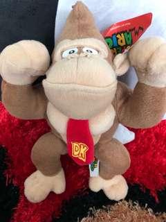 Super MARIO Donkey Kong Plushed Stuffed Toy Gorilla