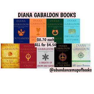 (ebook) Outlander Book Series by Diana Gabaldon
