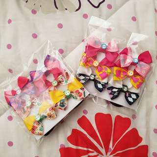 Hair Ribbons - ponytails (6pcs for Php130)
