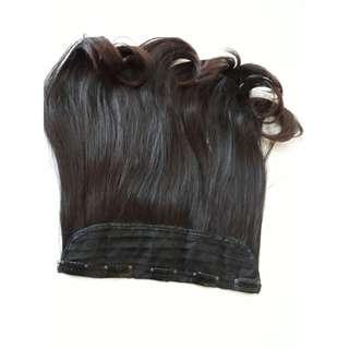Hairclip . Rambut palsu / 50cm