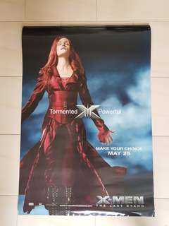 X-Men Promotional Character Poster The Last Stand - A Marvel Legend not DC