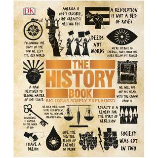 The History Book: Big Ideas Simply Explained by DK [eBook]