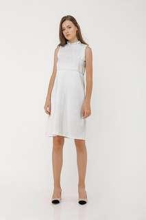 NEW White Cassie Dress - Label Eight