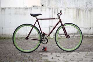 Charge bike plug freestyler fixed gear single speed NEGO