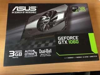 ASUS GTX1060 3G ITX GPU