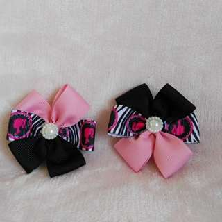 Hair ribbons - Clips (6pcs for Php120)