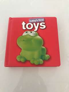 Preloved Baby's First Toys Board Book