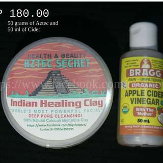 Aztec Secret Indian Healing Clay Trial Pack Set A (Takal)
