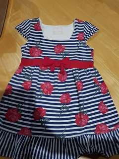 Pumpkin patch top/dress 9yo