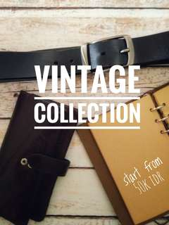 Vintage leather stuff