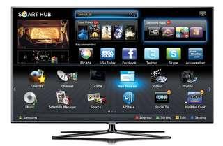 SAMSUNG 55 inch smart 3d tv